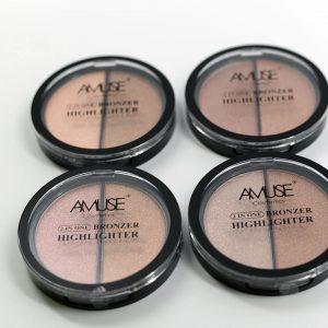 Amuse cosmetics 2en1 bronzer e iluminador