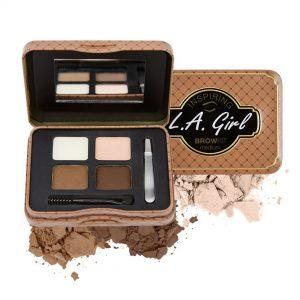 L.A Girl kit de sombras para cejas Medium
