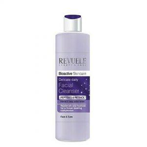Revuele bioactive skincare peptidos y retinol limpiador facial
