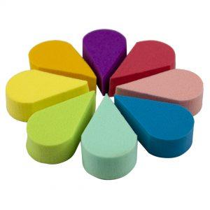 Adoro aplicador esponja/ látex rainbow x8