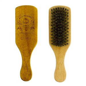 Cepillo de barbero con mango blacklabel