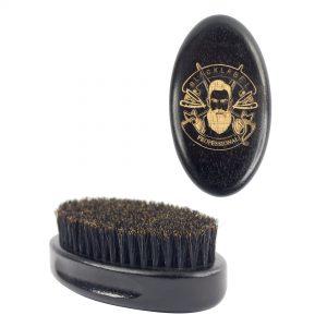 Cepillo de barbero ovalado blacklabel