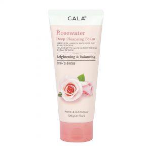 CALA espuma limpiadora agua de rosas