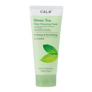 CALA espuma limpiadora Té Verde