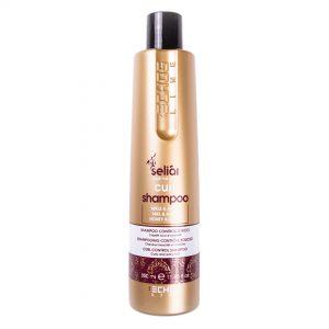 Echos Line shampoo control de rizos con miel y aceite de argán 350ml