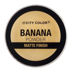 City Color polvo banana matte finish