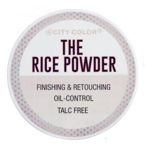 City Color polvo suelto de arroz