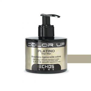 Echos Line tratamiento/ mascarilla colorante platino