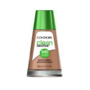 Covergirl base liquida clean sensitive natural beige 540