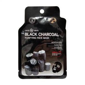Dear Derm mask black charcoal