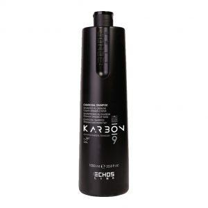 Echos Line Charcoal Shampoo para cabello maltratado 350ml