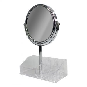 Espejo doble cara base acrílica