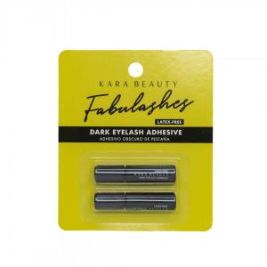 Kara beauty fabulashes pega para pestañas adhesivo oscuro