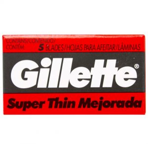 Gillette hojas para afeitar
