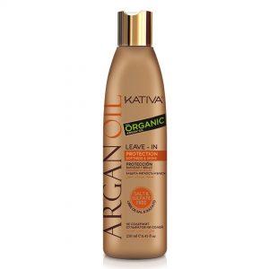 Kativa argán oil organic protección-crema para peinar 250ml