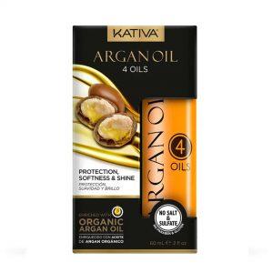 Kativa argán oil protección suavidad caída 60ml