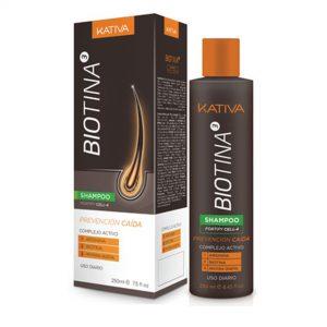 Kativa biotina shampoo prevención caída 250ml