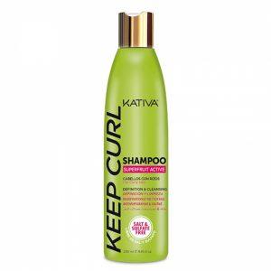 Kativa keep curl shampoo cabello con rizos