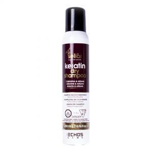 Echos Line shampoo seco Keratina y argán