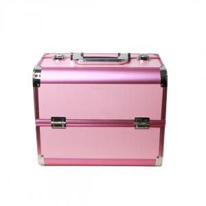 Maletín cosmético rosado