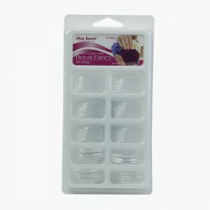 Mía secret  100 nails tips color transparente