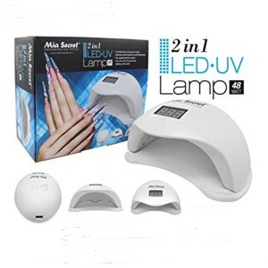 Mia Secret lamp. 48 watt led uv 2in1