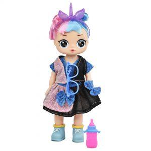 Muñeca plástico lol harley quinn