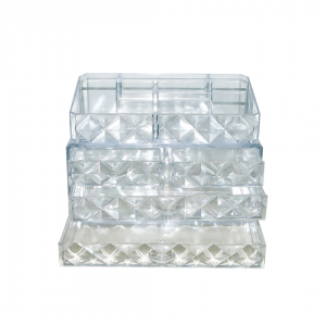 Organizador cosmético transparente