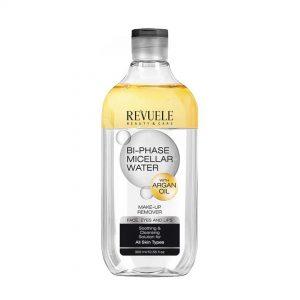 Revuele bi-phasse agua micelar