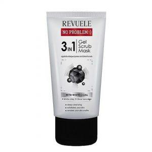 Revuele – Gel Limpieza 3 en 1 con carbón activo