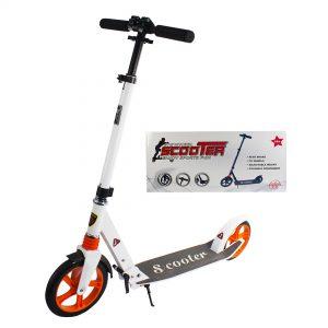 Scooter-grande-blanco
